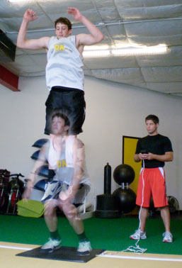 GO Sports Performance Vertical Leap Example