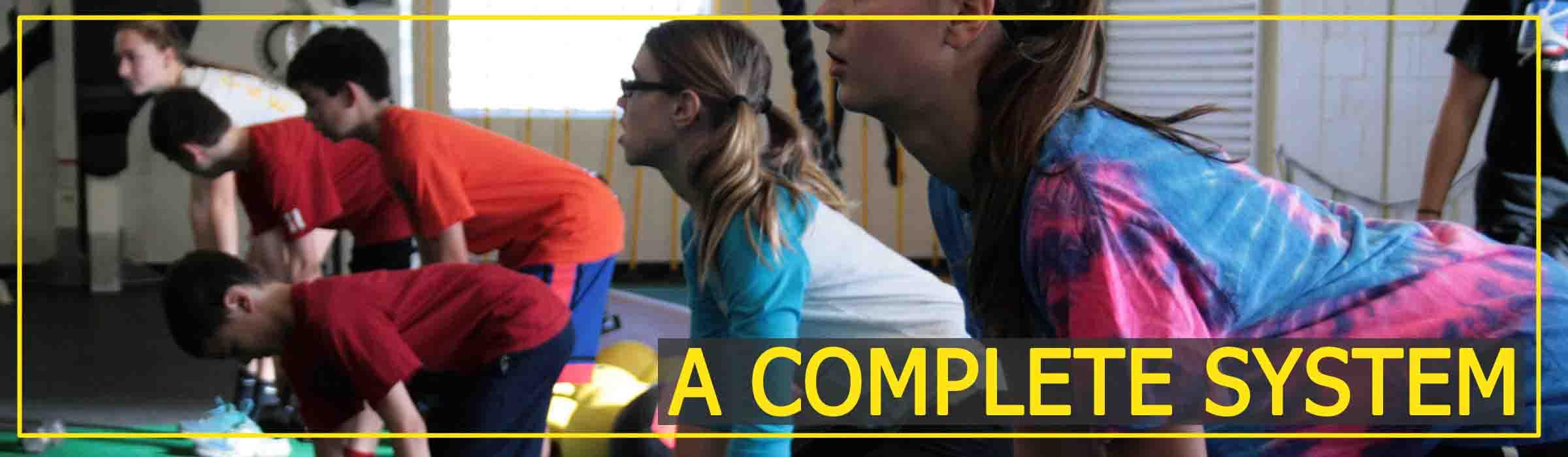 Jump Start Youth Speed Training Program class Weight Workout