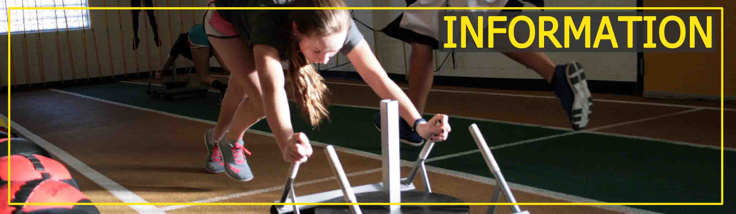 Sports Performance Program class Sled Workout for information