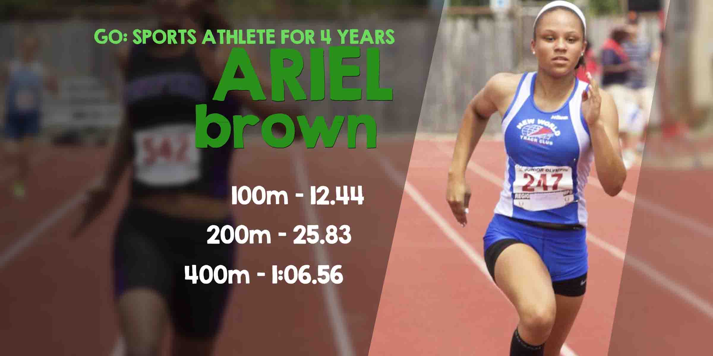 Go Sports Performance Columbus Ohio Powered By Parisi Speed School Athlete Ariel Brown