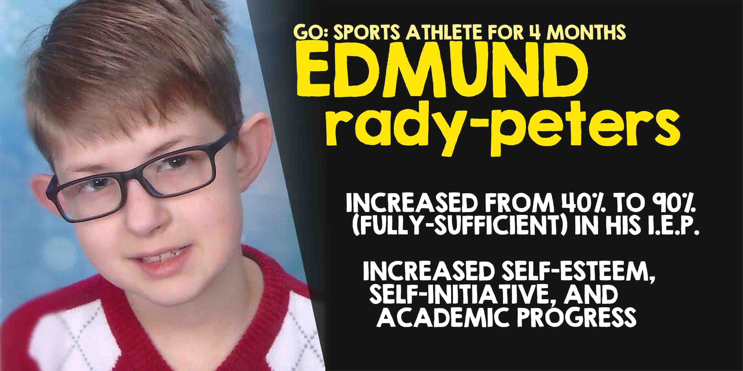 Go Sports Performance Columbus Ohio Powered By Parisi Speed School Athlete Edmund Rady-Peters