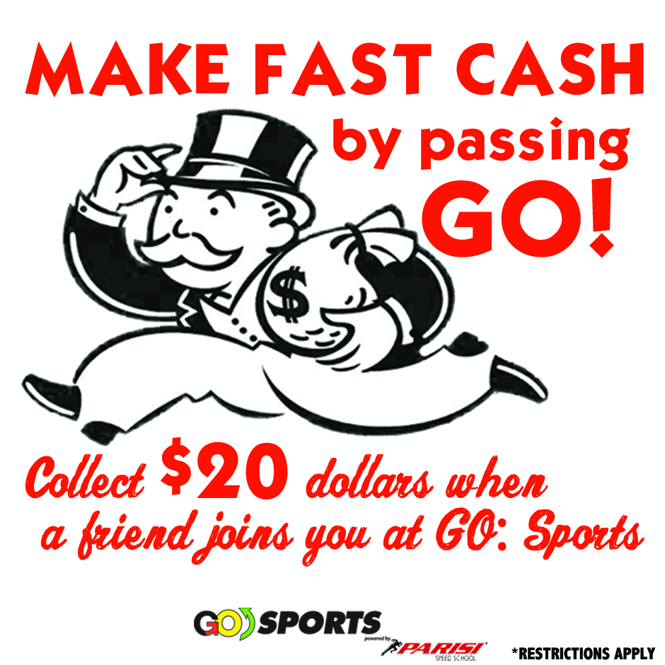 Go Sports Performance Columbus Ohio powered by Parisi Speed School July Fast Cash 2016